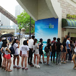 queues at Lotte World in Seoul, Seoul Special City, South Korea