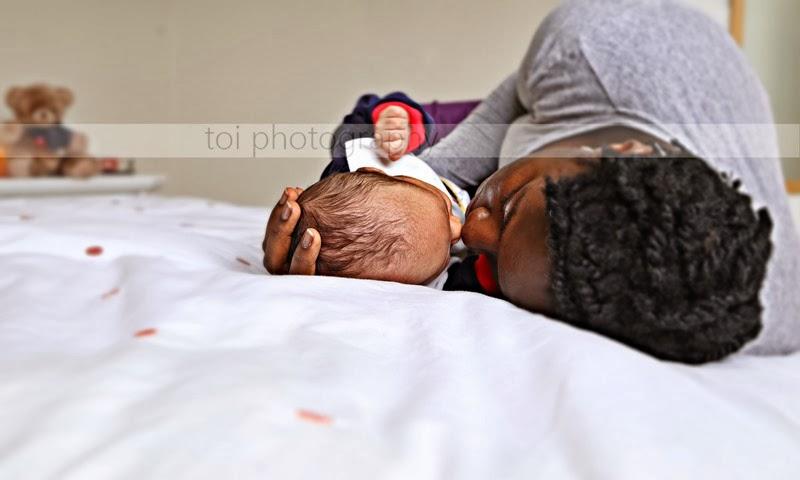 mr t and mummy 1
