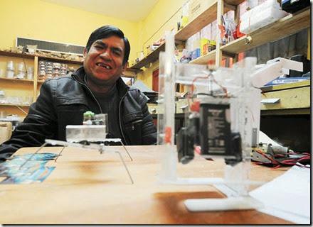 Innovadores en la Feria 16 de Julio en El Alto