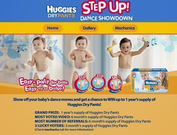 Huggies Step Up Dance Showdown