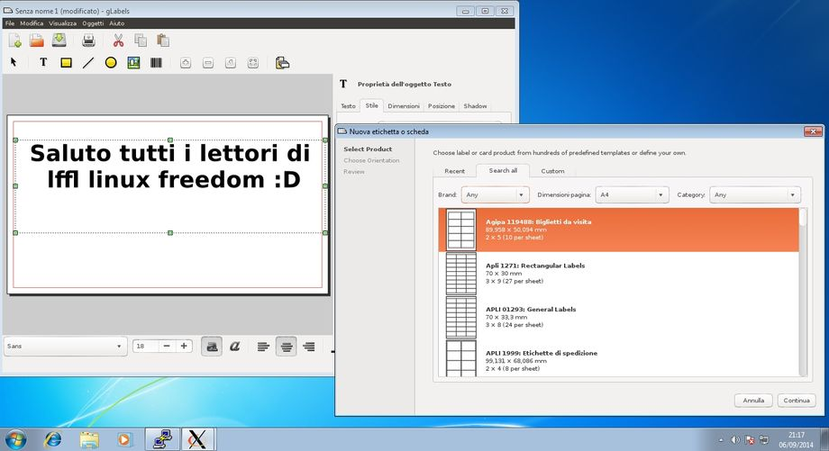 Xming applicazioni Linux in Windows