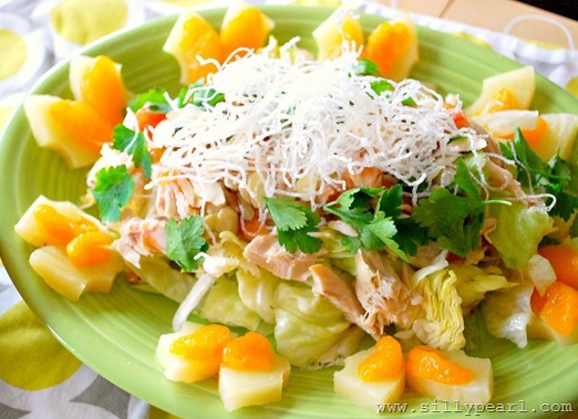 Plum Sauce Chicken Salad