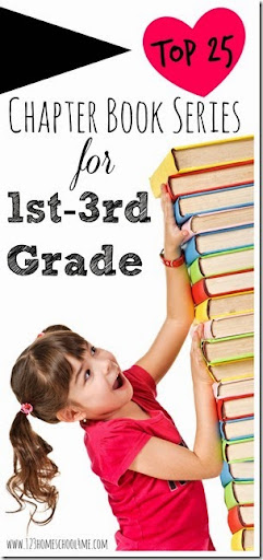 Top 25 Chapter Book Series Book Recommendations 1st3rd Grade