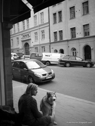 waiting for coffee @ Johan & Nyström