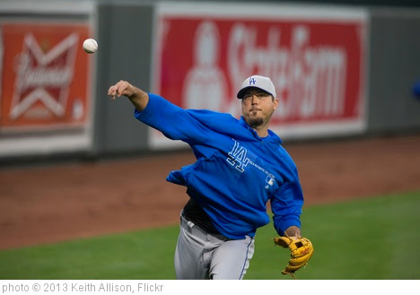 'Josh Beckett' photo (c) 2013, Keith Allison - license: https://creativecommons.org/licenses/by-sa/2.0/