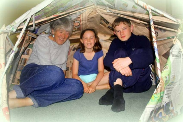 r and j and s in tent