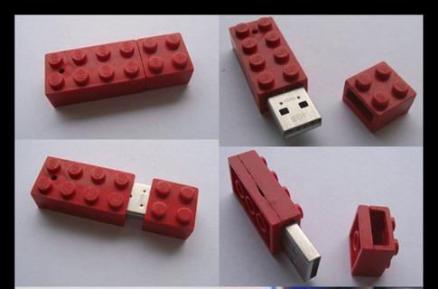 32. Lego USB Stick