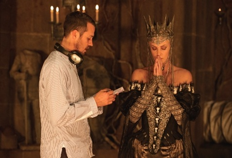Director Rupert Sanders In The Movie Snow White