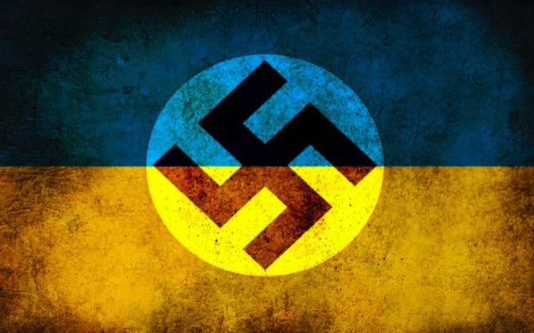 CC Photo Google Image Search Source is ic pics livejournal com  Subject is nazi ukraine flag
