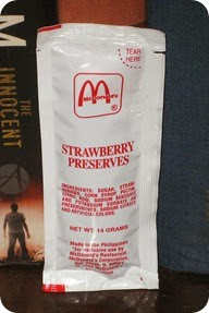 Strawberry Preserves - McD