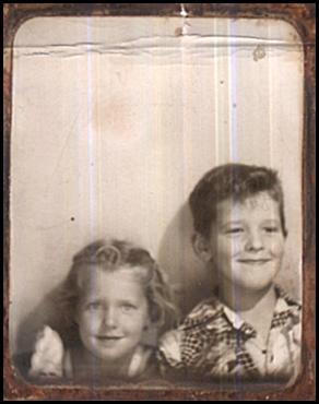 Willie & Loretta, taken at Idora Park