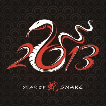 змея 2013 вектор