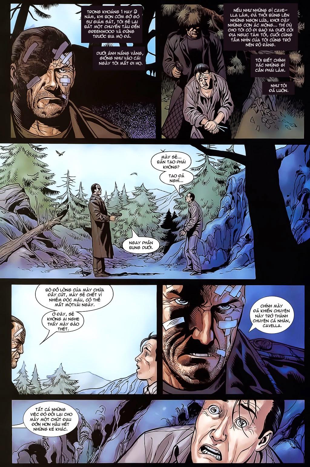 The Punisher: Trên là Dưới & Trắng là Đen chap 6 - Trang 23