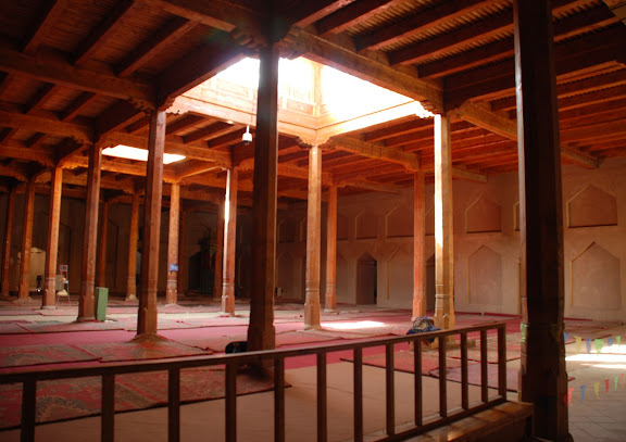 Turfan - Minaret Emin salle de prières