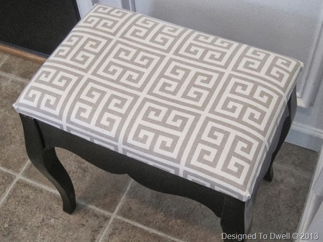 Greek Key Bench