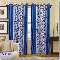 Shopclues : Buy Kolaweri Design Eyelet Door Curtain (Pack of 2) at Rs.269 only