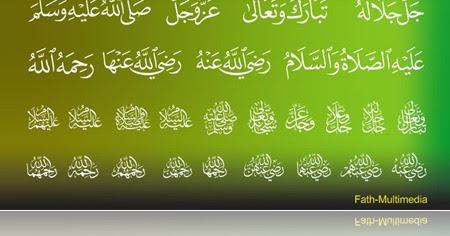 Download Kfgqpc Arabic Symbol Spesialis Desain Grafis Multimedia Konsep Dan Konten Islami Kaligrafi Digital
