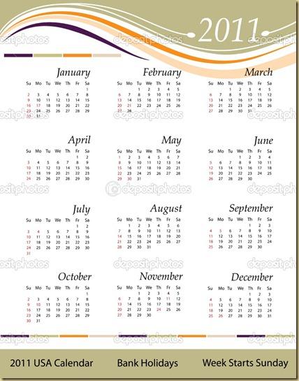 Calendar-2011---USA