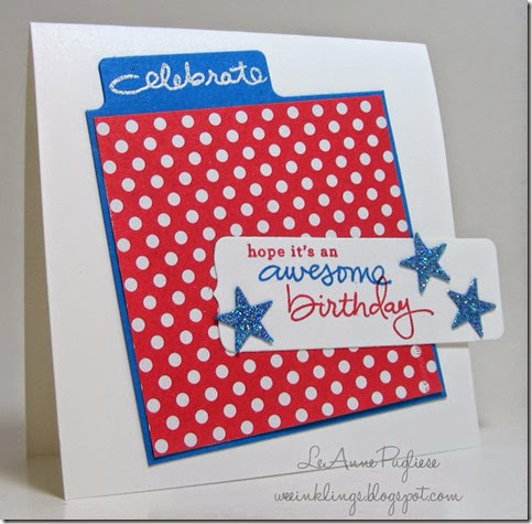 LeAnne Pugliese WeeInklings Endless Birthday Wishes Stampin Up
