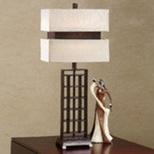 contours modern asian-inspired table lamp