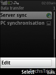 server sync