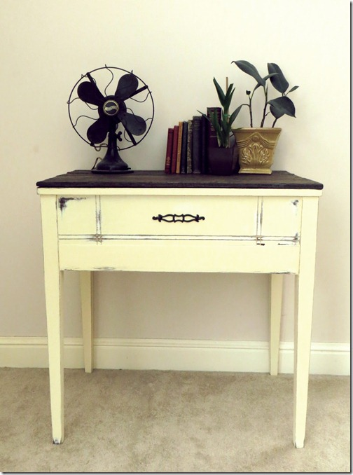 Repurposed Sewing Table