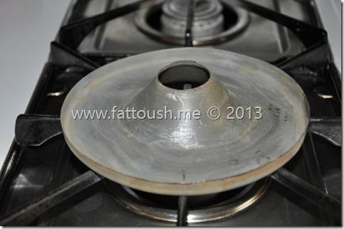 طريقة خبز الكيك أعلى الفرن من www.fattoush.me