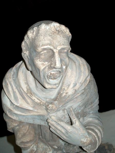 Des décorations sculptés qui furent sauvées lors des rénovations