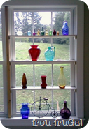 Built In Window Shelves