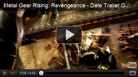 metal gear rising trailer youtube