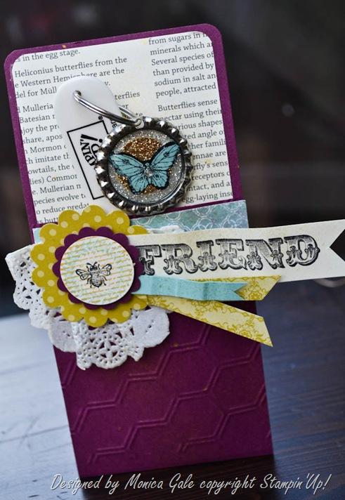 Stampin'Up! Collage Curious team gifts