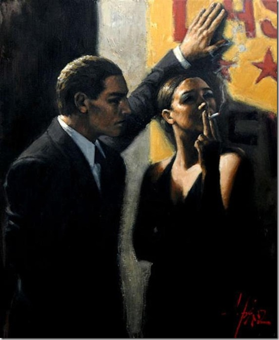 Fabian Perez 1967 - Argentine Figurative painter - Reflections of a Dream - Tutt'Art@ (2)