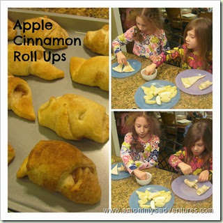 Apple Cinnamon Roll Ups