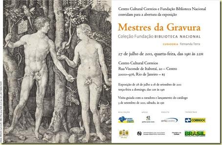 MESTRES DA GRAVURA