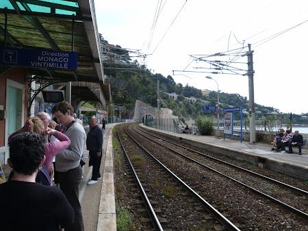 Gara Villefranche, directia Monaco