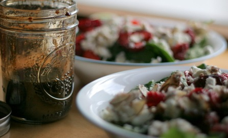 strawberry spinach salad 3