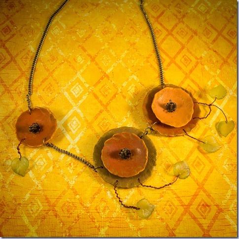 rumena z listki