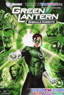 Siêu Nhân Xanh - Green Lantern: Emerald Knights Tập 1080p Full HD