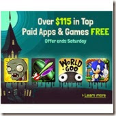 Amazon AppStore: Get great 38 Free Android Apps above $115