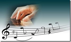 teclado e notas