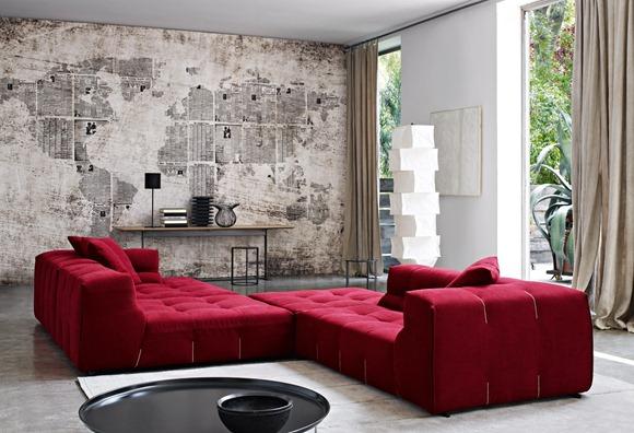 Bonitos modelos de sofás