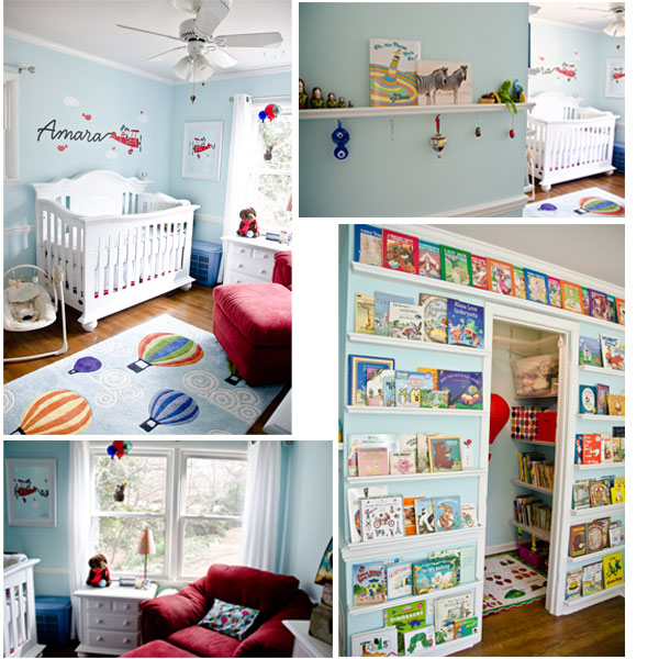 Amara's Oh The Places You'll Go Nursery