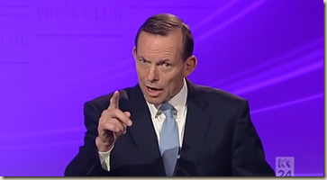 Tony Abbott Opening Remarks - Debate - National Press Club 1 - YouTube