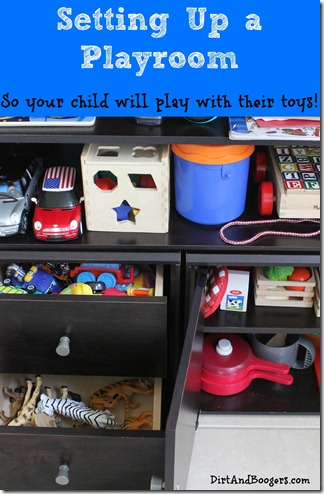 Playroom Redo, organizing toys