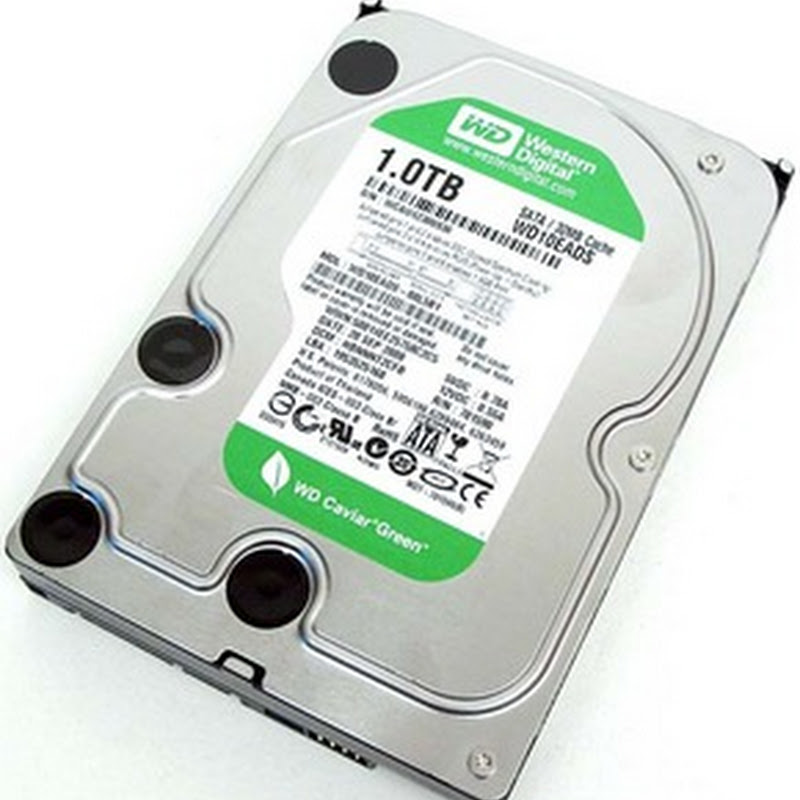 'Intellipark' Makes Western Digital Green Drives Prone to Early Failure. Here's the Fix