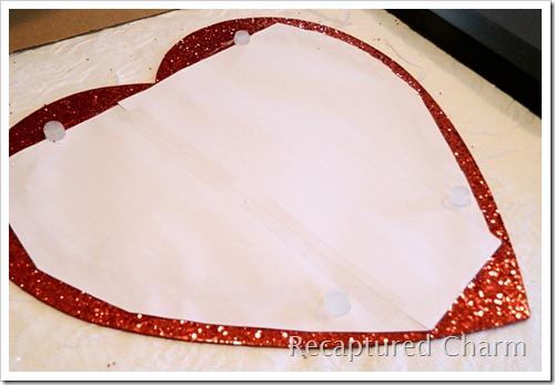 Valentine Heart Frame 038a