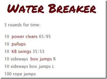 waterbreaker