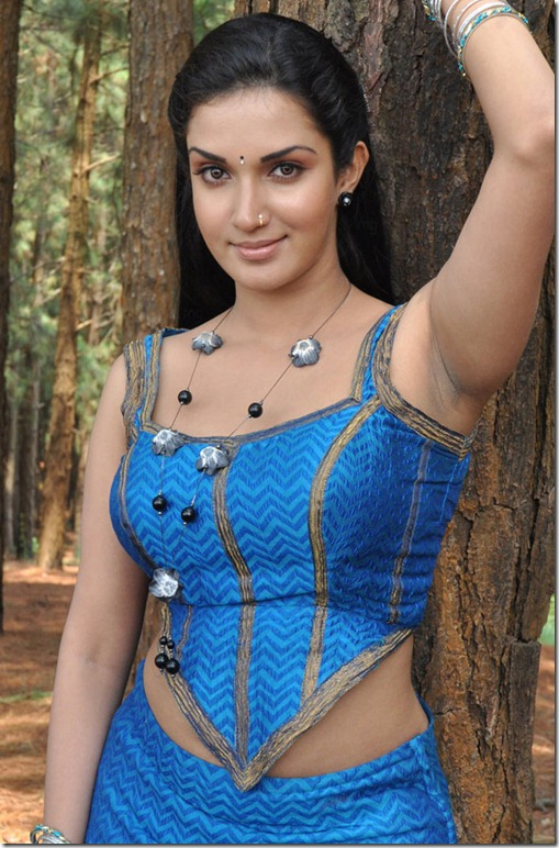 Mallukattu Movie Actress Soundarya Honey Rose Hot Pics
