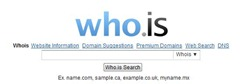 whois