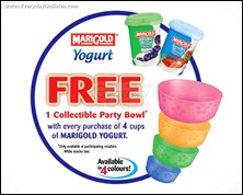 Marigold Yogurt Free Bowl With Purchase Branded Shopping Save Money EverydayOnSales